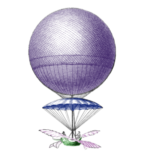 Luchtballon, fixioneers, adventurers